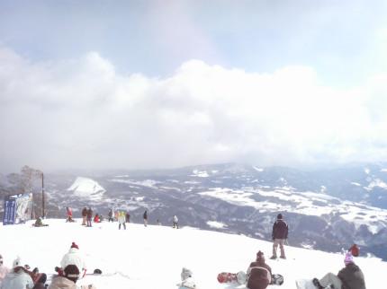 スキー2回目1
